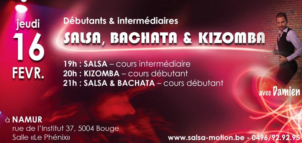 Cours de SALSA, Bachata et Kizomba à Bouge